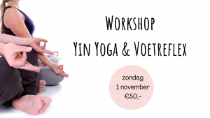Workshop Yin Yoga & Voetreflex @ 't Landingshuys